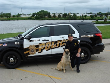 This is a photo of K-9 Cody and his Officer
