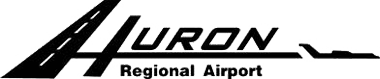 This is the Huron Airport Logo