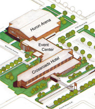 Event Center Diagram