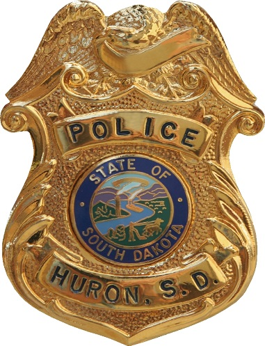 This is a photo of a police badge