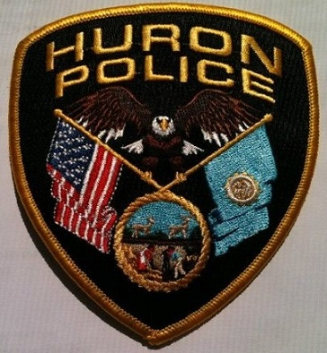 This is a photo of the Huron Police Department Patch