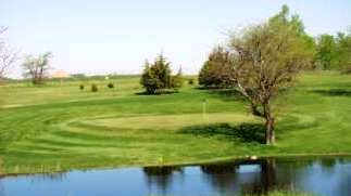 This is a photo of the golf course