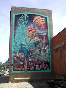 Capturing South Dakota State Fair Mural